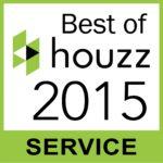 Houzz best of 2015 service badge