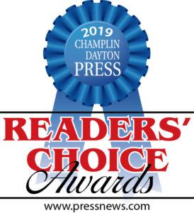 Readers' choice award - Dayton Champlin Press